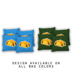 Tacos Cornhole Bags - Set of 8