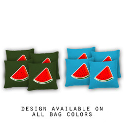 Watermelon Cornhole Bags - Set of 8