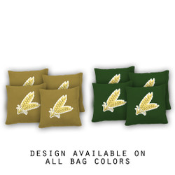 Wheat Grass Cornhole Bags - Set of 8
