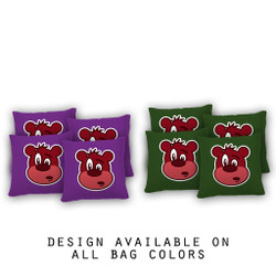 Babble Bear Cornhole Bags - Set of 8