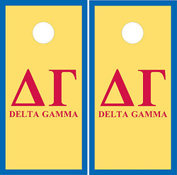 Delta Gamma Cornhole Set with Bags