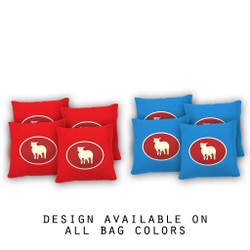 Certified Lamb Cornhole Bags - Set of 8