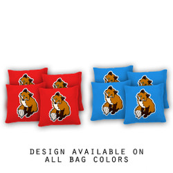Cute Fox Cornhole Bags - Set of 8