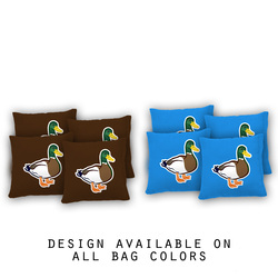 Ducks Cornhole Bags - Set of 8