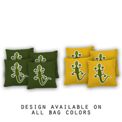 Gecko Cornhole Bags - Set of 8