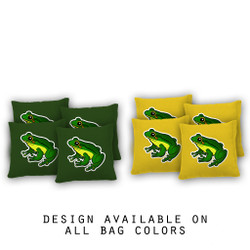 Rainforest Frog Cornhole Bags - Set of 8