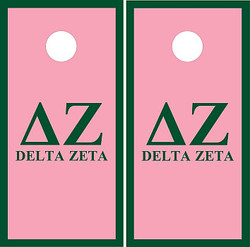 Delta Zeta Cornhole Set with Bags