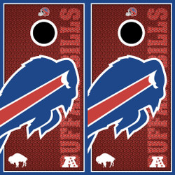 Buffalo Bills Cornhole Wraps