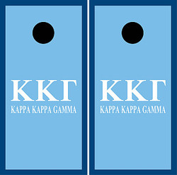 Kappa Kappa Gamma Cornhole Set with Bags