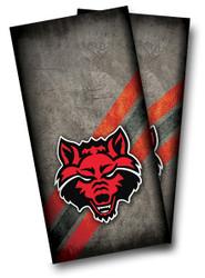 Arkansas State Red Wolves Cornhole Wraps