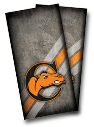 Campbell Fighting Camels Cornhole Wraps
