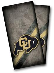 Colorado Buffalo Cornhole Wraps