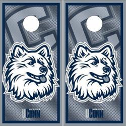 Connecticut Huskies Cornhole Wraps