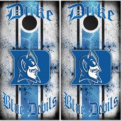 Duke Blue Devils Cornhole Wraps