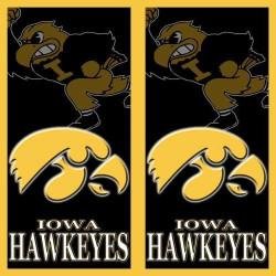 Iowa Hawkeyes Cornhole Wraps