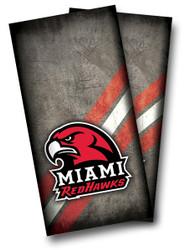 Miami (OH) Redhawks Cornhole Wraps