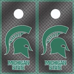 Michigan State Spartans Cornhole Wraps