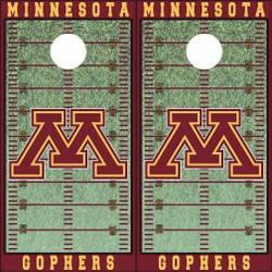 Minnesota Golden Gophers Cornhole Wraps