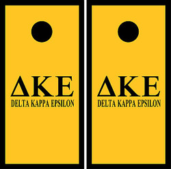 Delta Kappa Epsilon Cornhole Set with Bags