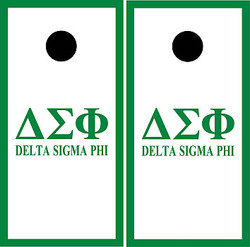 Delta Sigma Phi Cornhole Set with Bags