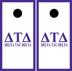 Delta Tau Delta Cornhole Set with Bags