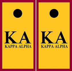 Kappa Alpha Cornhole Set with Bags