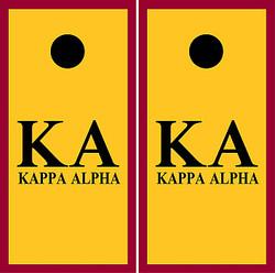 Kappa Alpha Cornhole Set with Bags