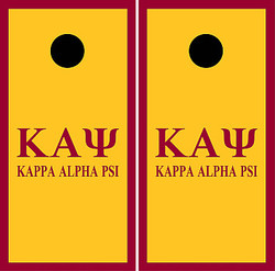Kappa Alpha Psi Cornhole Set with Bags
