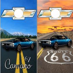 67 Camaro Highway Cornhole Wraps