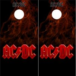 AC/DC Cornhole Wraps