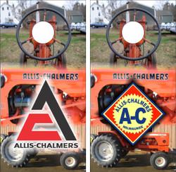 Allis Chalmers Cornhole Wraps