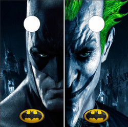 Batman and Joker Cornhole Wraps