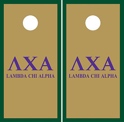 Lambda Chi Alpha Cornhole Set with Bags