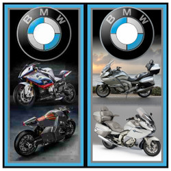BMW Motorcycles Cornhole Wraps