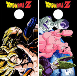 Dragon Ball Z Cornhole Wraps