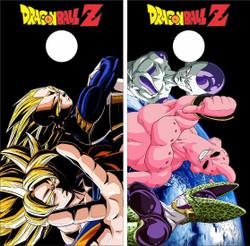 Dragon Ball Z Cornhole Wraps