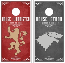 Game of Thrones Cornhole Wraps