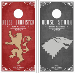 Game of Thrones Cornhole Wraps