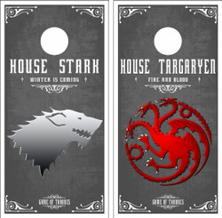 Game of Thrones Version 2 Cornhole Wraps
