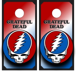 Grateful Dead Cornhole Wraps