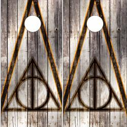 Harry Potter Cornhole Wraps