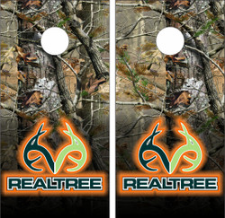 Realtree Cornhole Wraps