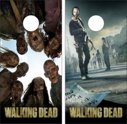 The Walking Dead Cornhole Wraps