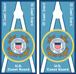 US Coast Guard Cornhole Wraps