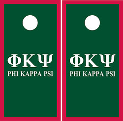 Phi Kappa Psi Cornhole Set with Bags