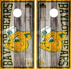 Baylor Bears Version 2 Cornhole Wraps