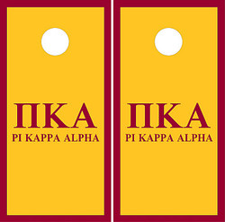 Pi Kappa Alpha Cornhole Set with Bags