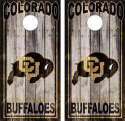 Colorado Buffalo Version 2 Cornhole Wraps