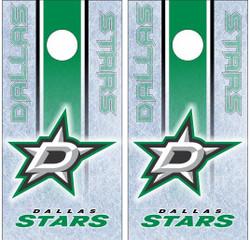 Dallas Stars Cornhole Wraps