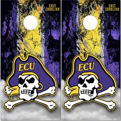 East Carolina ECU Pirates Cornhole Wraps
